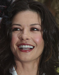Catherine Zeta Jones en el Hasty Pudding Woman en Cambridge, Massachusetts, Estados Unidos.