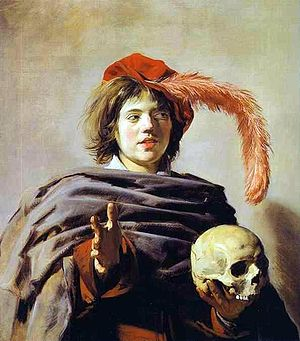 Frans Hals, Young Man with a Skull (Vanitas).JPG