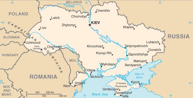 Geografia De Ucrania
